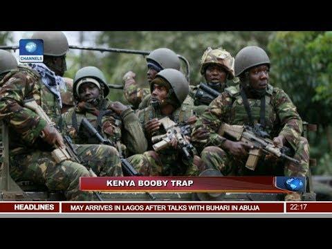 Five Soldiers Killed In Kenya Violence 29/08/18 Pt.4  News@10 