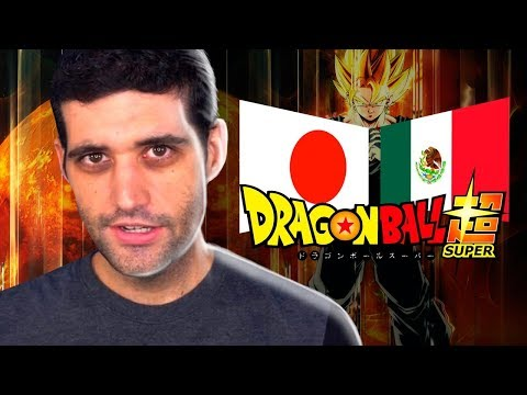TRETA CABULOSA envolvendo Japão e México por causa de Dragon Ball Super