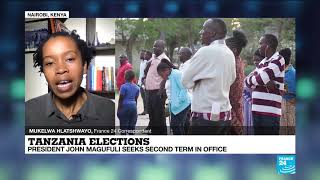 Tanzania elections: social media sites 'down' as presidential vote nears