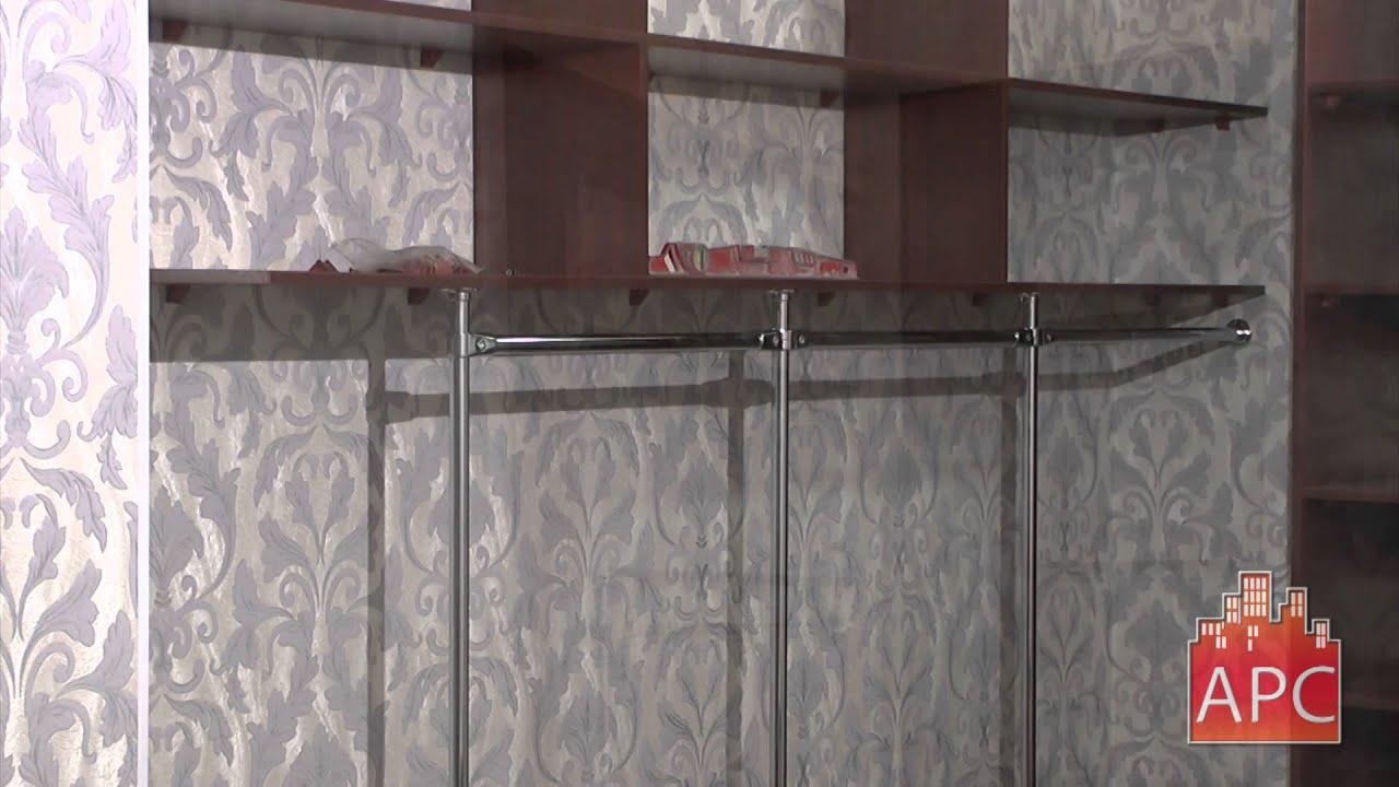 Гардеробная комната в прихожей под заказ - youtube.