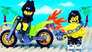 Lego Ninjago Hunted Fat Ninja Biker Beach Fight War Fail