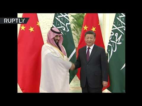 شاهد.. لحظة استقبال الرئيس الصيني شي جين بينغ لولي العهد السعودي محمد بن سلمان  - نشر قبل 6 ساعة