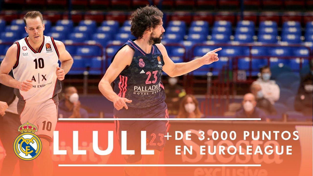 Llull alcanza los 3.000 puntos en Euroleague