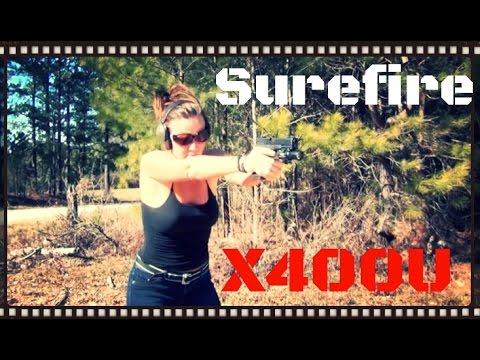 SureFire X400 Ultra 500 Lumen Weapon Light & Laser Review (HD)