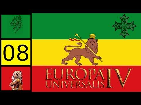 EU4 Rights of Man - Coptic Ethiopia -  Prester John Achievement #8