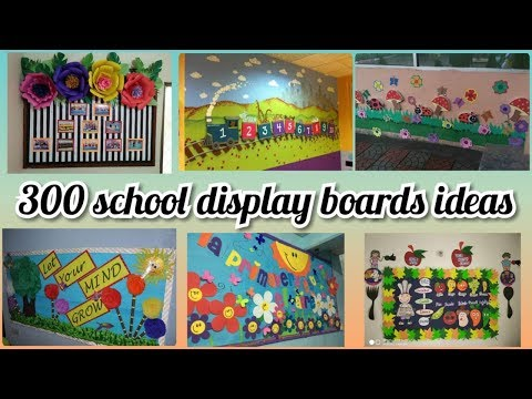 300 + School notice board decoration ideas || amazing display board ideas for school