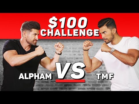 $100 Dollar Challenge: ALPHA M. VS TMF (Vote For The Winner)