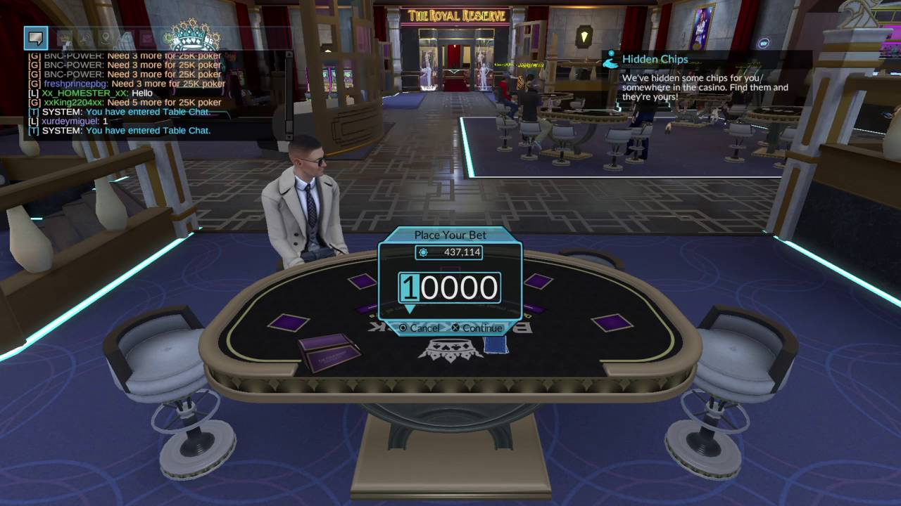 four kings casino and slots hidden chips