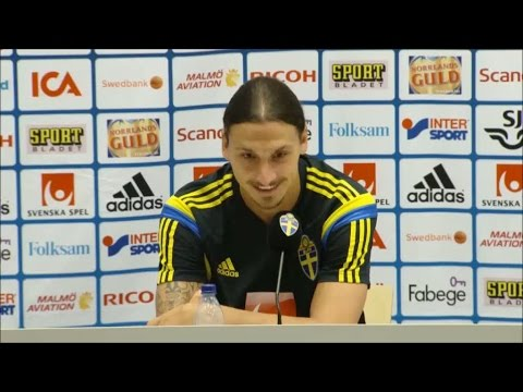 Zlatan hits out at swedish journalist Olof Lundh - TV4 Sport