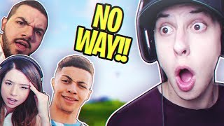 He Did What?! TSM Myth, Pokimane, Cizzorz & CourageJD - Squads Fortnite Gameplay Win
