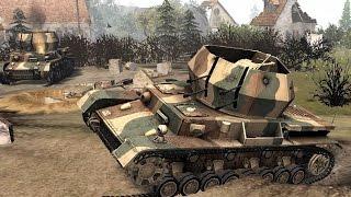 В тылу врага: Штурм 2. Захват территорий \ 3 vs 3 \ СССР vs Германия.#7