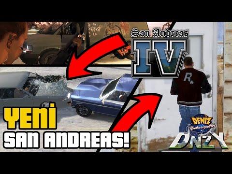 GTA SAN ANDREAS'IN YENİ OYUNU! GTA 4 VE GTA 5 GİBİ!