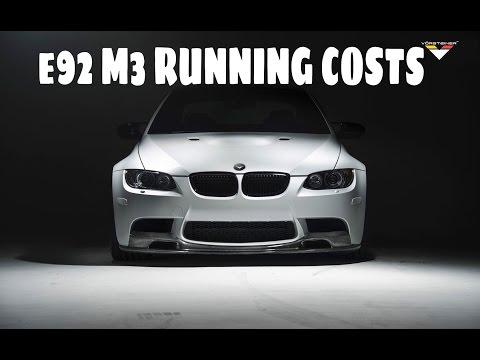 e92 M3 Running Costs, Insurance and Maintenance