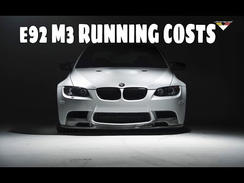 e92 M3 Running Costs, Insurance and Maintenance