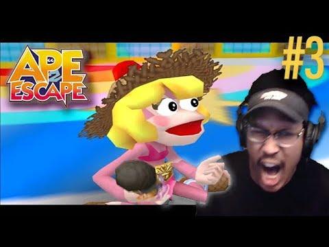 I'M THE BEST MONKEY COP AROUND. | Ape Escape 2