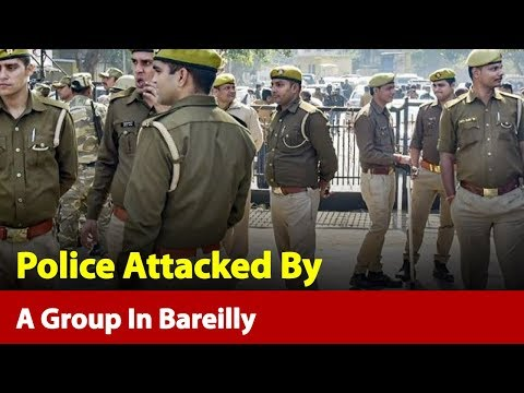 Uttar Pradesh: Police Attacked By A Group In Bareilly While Enforcing Lockdown | News Nation