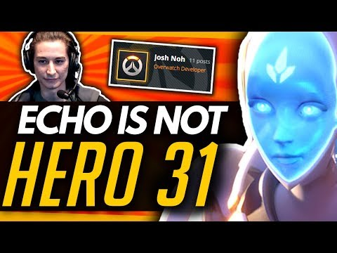 Overwatch | Echo NOT Hero 31 + Major Features Being Worked On - Developer Answers thumbnail