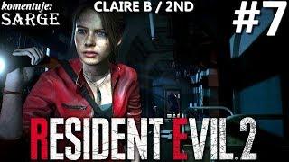 Zagrajmy w Resident Evil 2 Remake PL | Claire B | odc. 7 - Sierociniec | Hardcore