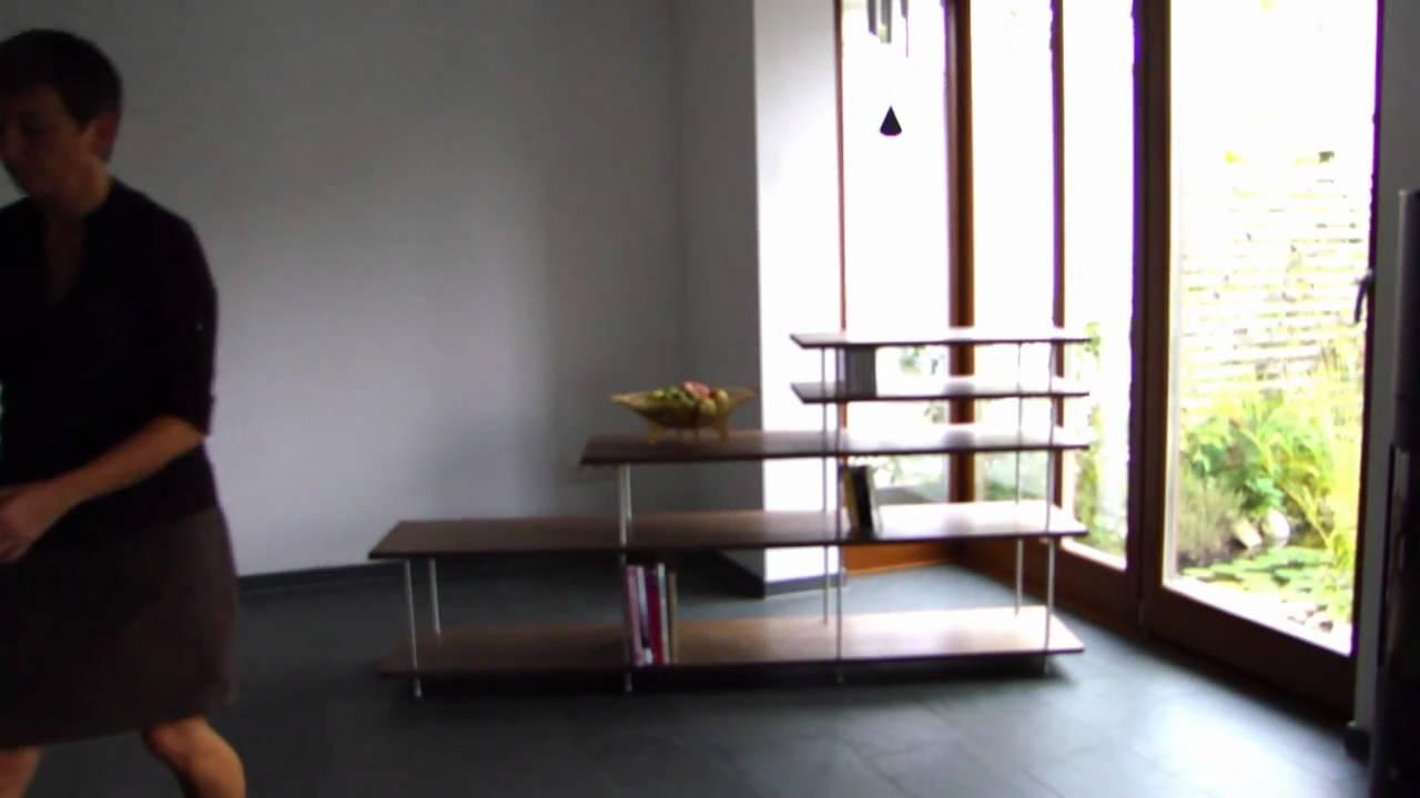 regal system simple string wandregal er regal system teakholz nisse strinning regalsystem. Black Bedroom Furniture Sets. Home Design Ideas