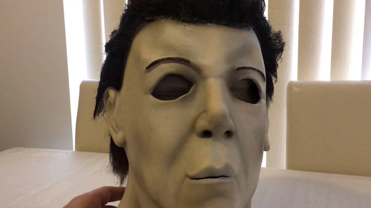 Michael Myers Cinema Secrets Halloween Resurrection Latex Mask