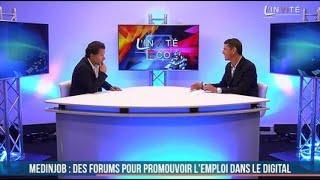 """L'invité :  """"Plus de 500 CDI dans les métiers du digital avec Medinjob"""" (Samuel Masson)"""
