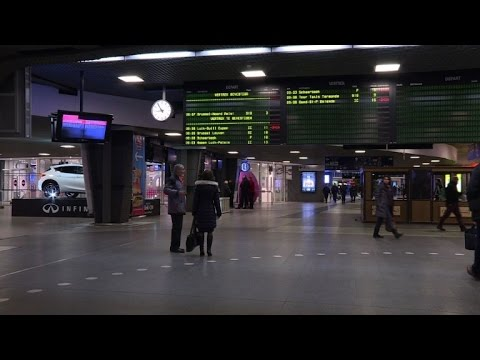 Belgium rail strike brings half of country to a standstill