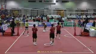 Video Kings Cup 2014 Sepak Takraw Malaysia vs. Korea - Team event semi final 1st regu download MP3, 3GP, MP4, WEBM, AVI, FLV Juli 2018