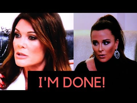 Real Housewives of Beverly Hills Kyle and Lisa fight!