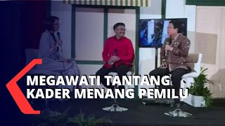 HUT Ke-47 & Rakernas I PDI Perjuangan, Megawati Menantang Kader Menang Pemilu Lagi