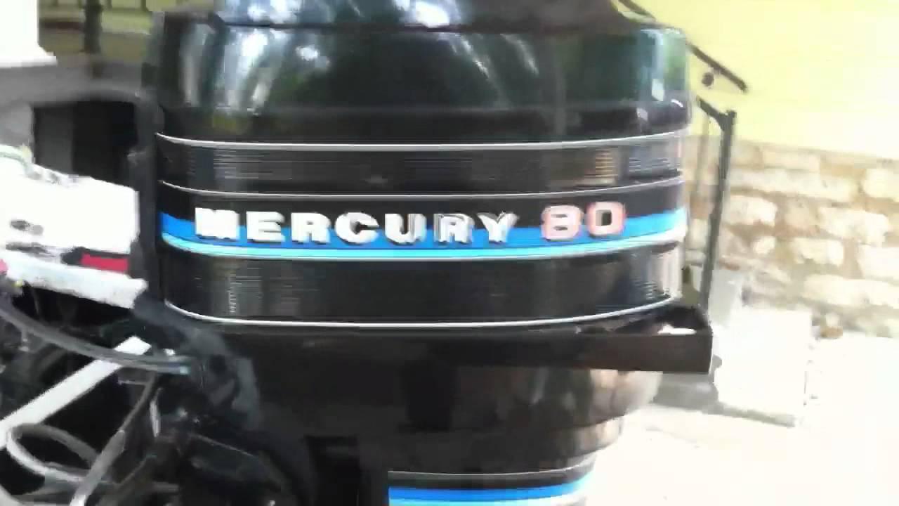 Mercury 80 hp  YouTube