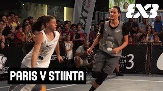 Paris v Stiinta - Full Final Game - 3x3 Women's Bucharest Tournament 2018