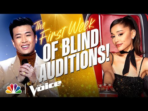 The Best Performances from the First Week of the Blind Auditions | The Voice 2021