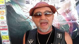 Zé Maia fla da satisfação de particiapar do 4° Encontro do grupo Moto Clube Jaguará