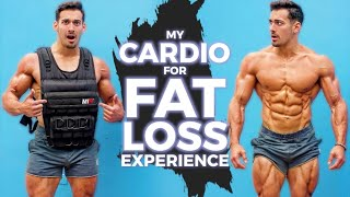 I DID CARDIO WITH A 140 POUND VEST. Here's what happened... Shredded for Life Ep. 15
