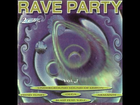 Rave Party Volume 1 Megamix 1995 By Vidisco PT