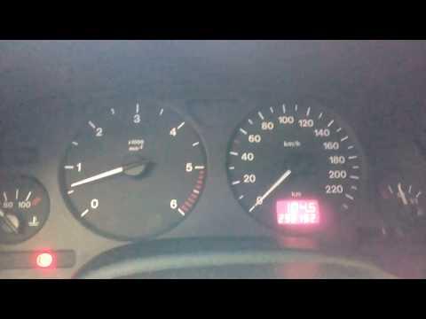 запуск двигателя Opel astra g x17dtl