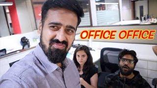 Saalon ke baad OFFICE!!! | Jadoo Vlogs
