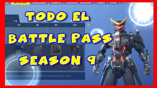 FORTNITE BATTLE PASS REVIEW EN ESPANOL NEW SEASON 9 !