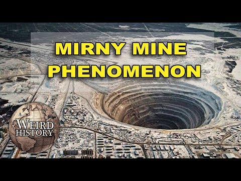 Mirny Mine: The Diamond Pit That Can Bring Down A Plane