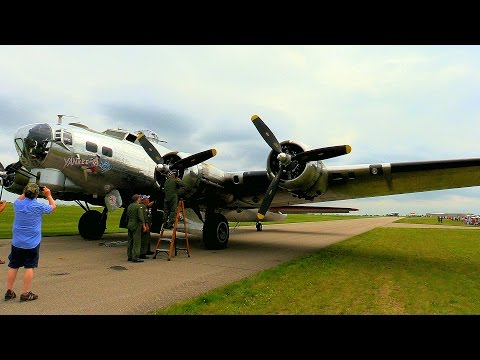 "Glenn Takes a Ride on a Boeing, B-17 ""Flying Fortress"" - ""Yankee Lady"" - July 11, 2015"