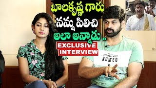 Actor Shritej About Working Experience With RGV and Balakrishna | Lakshmi's NTR Movie Team Interview
