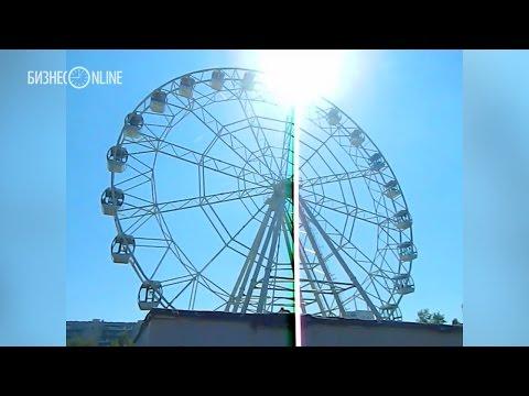 Тест-драйв нового колеса обозрения в Набережных Челнах