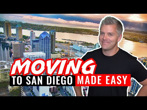 Moving To San Diego – 6 Steps Making It Easy