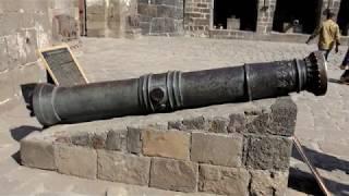 Cannon in Daulatabad Fort, Aurangabad, India in 4K Ultra HD