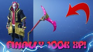 "NEW ""RIFT EDGE"" LEVEL 45 pickaxe + STAGE 4 ""DRIFT"" SKIN UPGRADE! Fortnite Battle Royale"