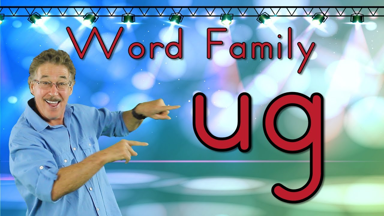 Word Family Ug Phonics Song For Kids Jack Hartmann