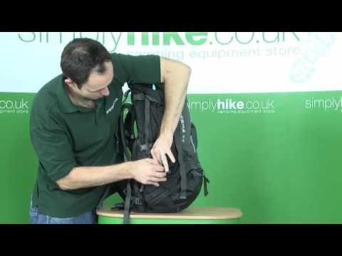 North Face Womens Terra 55 Rucksack - www.simplyhike.co.uk - YouTube a7787d55d68d