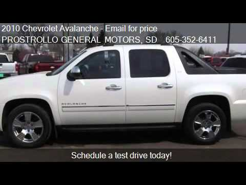 2010 chevrolet avalanche ltz dvd nav for sale in huron
