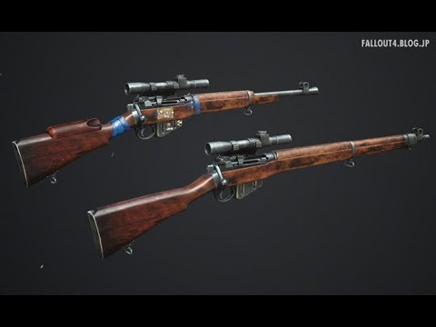 Lee Enfield No 4 Mk 1 - Britain's Finest at Fallout 4 Nexus