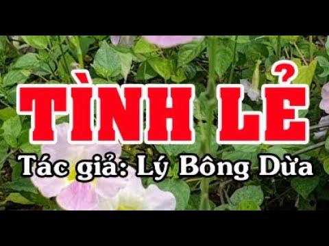 Karaoke vọng cổ TÌNH LẺ - SONG CA [T/g Lý Bông Dừa]